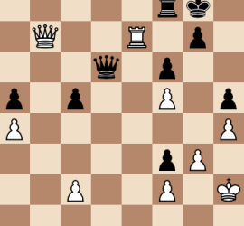 2014 World Chess Championship Round 2 Final Position