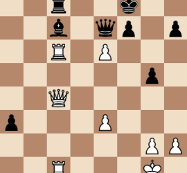 2014 World Chess Championship Round 3 Final Position