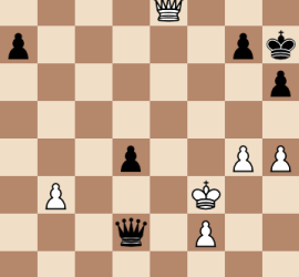 2014 World Chess Championship Round 4 Final Position