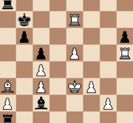 2014 World Chess Championship Round 6 Final Position